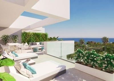 New Build Apartments - La Duquesa - Sunny Terrace Sea Views