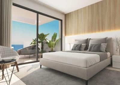 New Build Apartments - La Duquesa - Master Bedroom