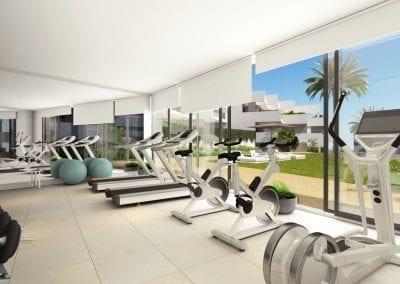 New Build Apartments - La Duquesa - Gymnasium