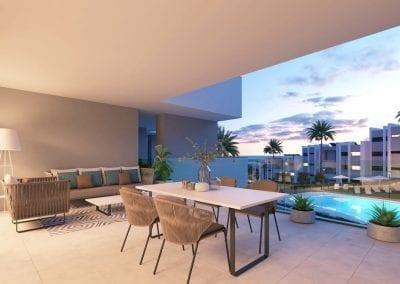 New Build Apartments - La Duquesa - Pool View